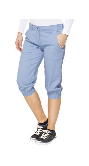 Salewa Frea korte broek Dames CO/HEMP blauw